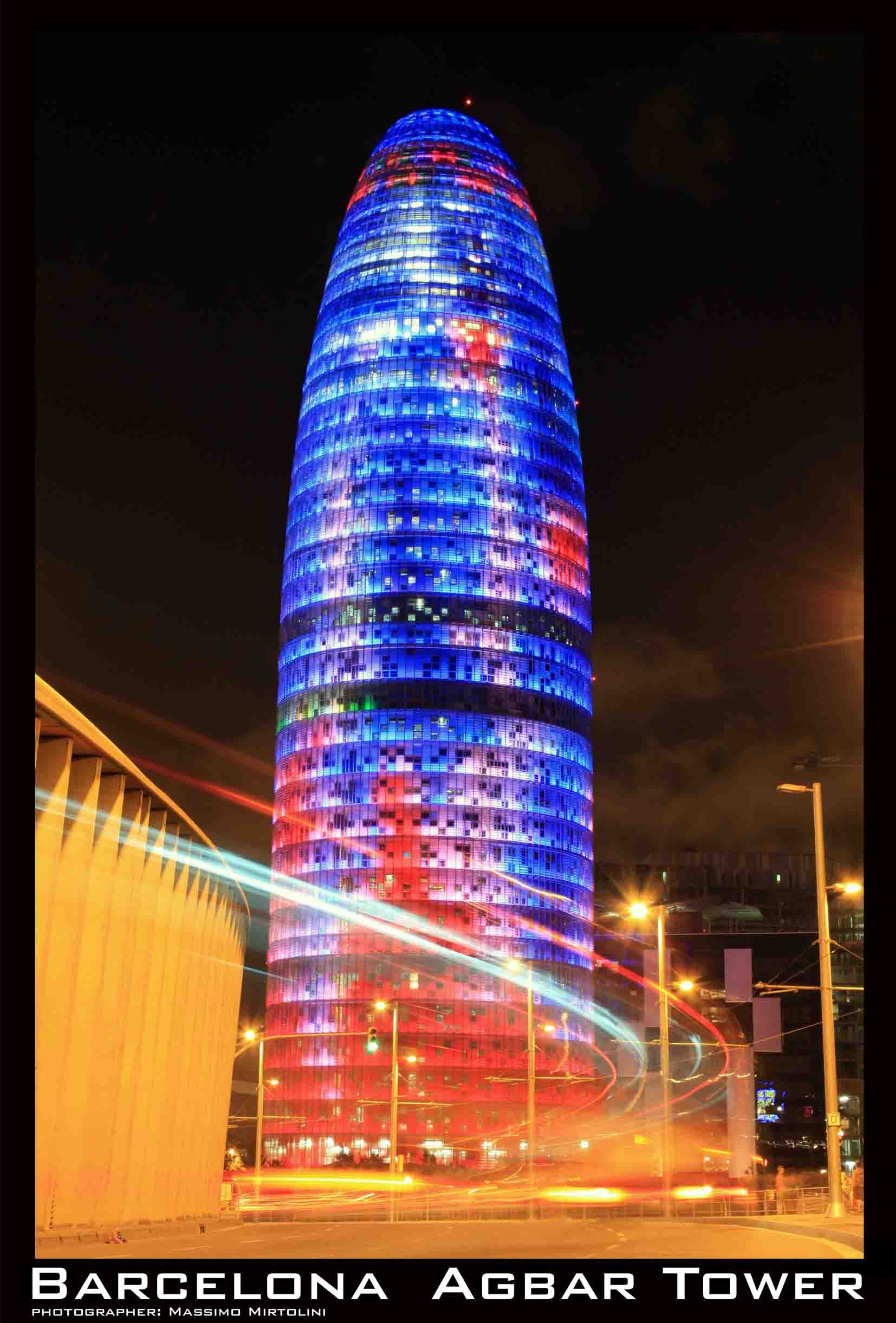 POSTER Torre Agbar Barcelona
