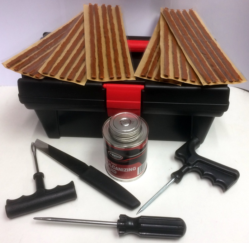 BROWN PLUG STRING TYRE REPAIR KIT