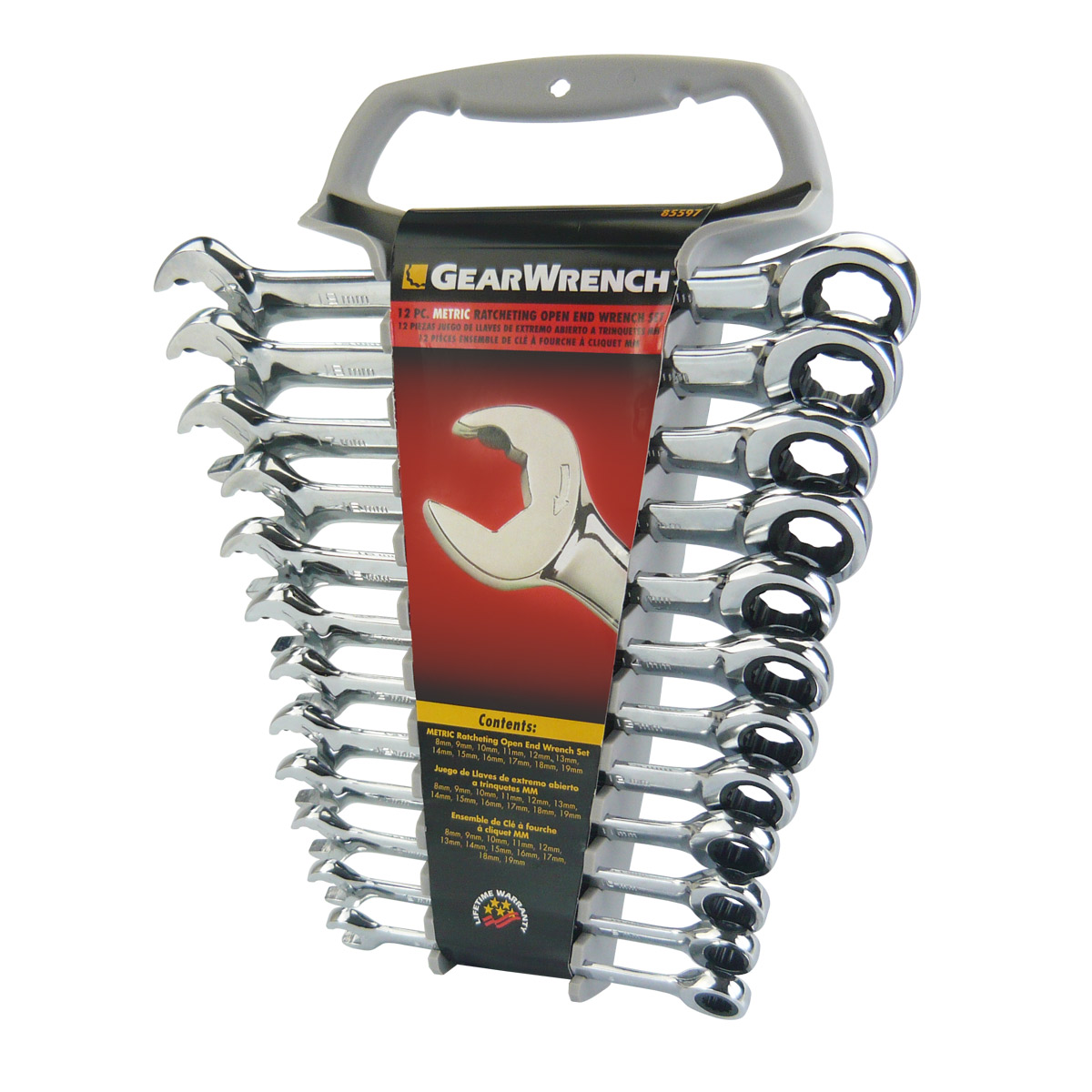 GEAR WRENCH SPANNER SET