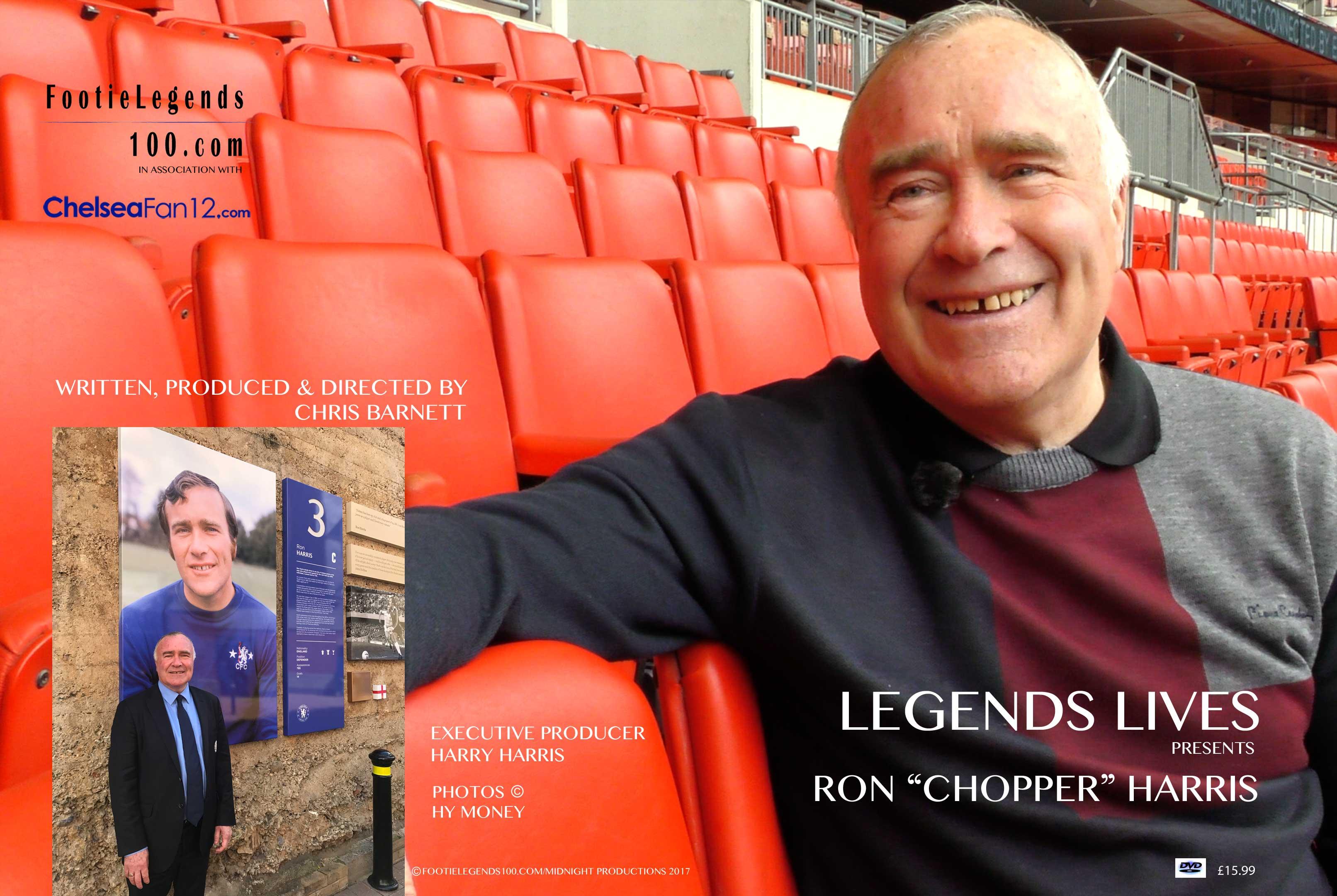 "Ron ""Chopper"" Harris Limited Edition DVD"
