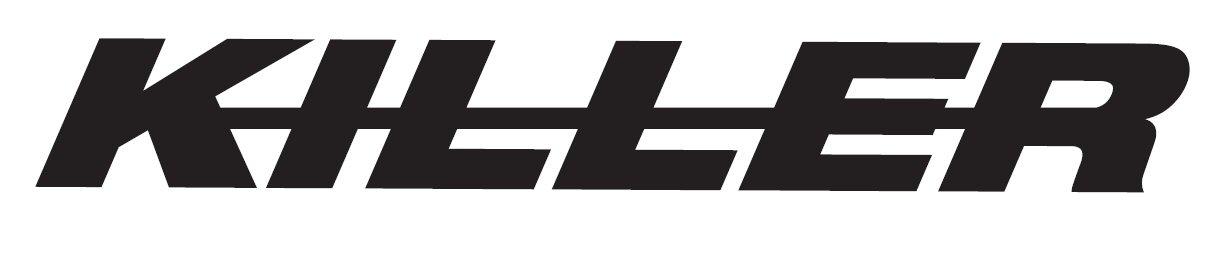 K-I-L-L-E-R Aufkleber (weiß)