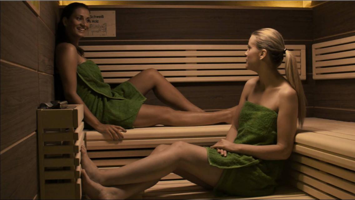 Saunazeit zu Zweit