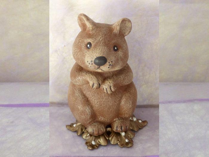 Urne funéraire animalière hamster <1kg.