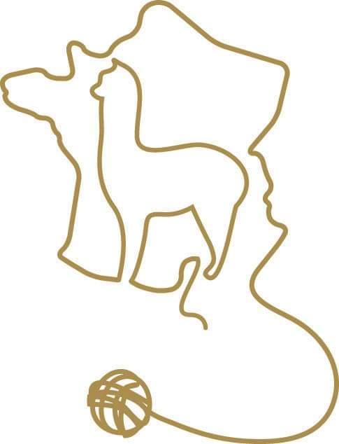 100% Baby Alpaca Flower Scarf in Chantilly