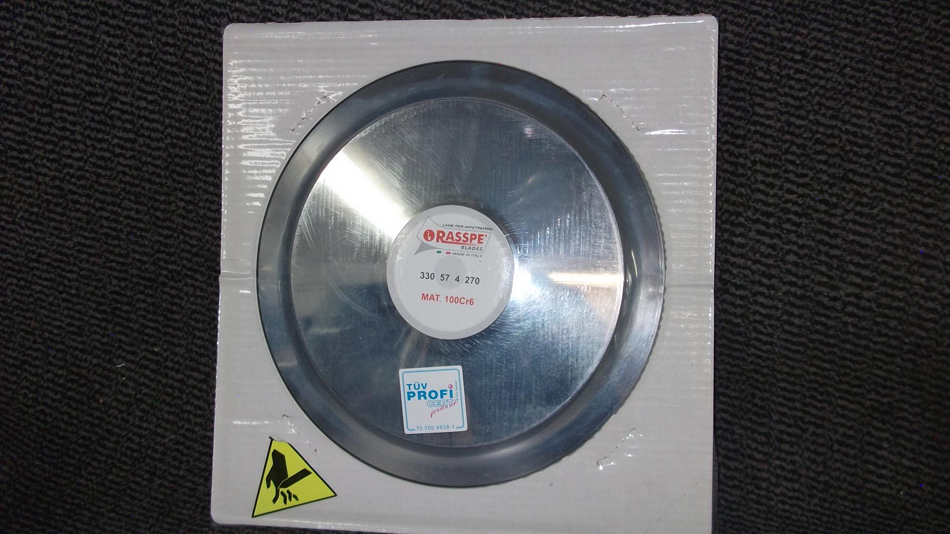 Raspe Rundmesser passend für Bizerba VS8 / VS8A / VS12