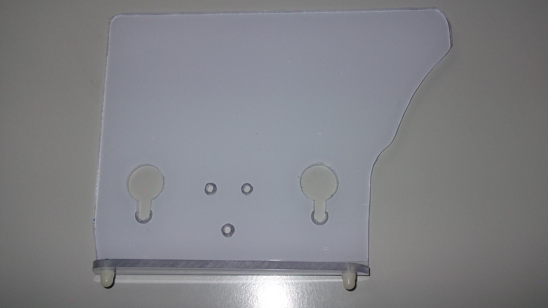 Handschutzplatte Berkel 836