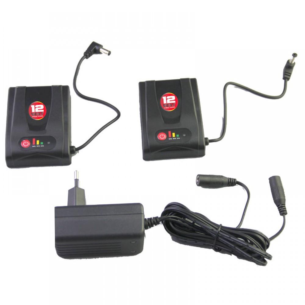 Gerbing 1.4 AMP Battery Kit - 2 x 12V Battery & Charger