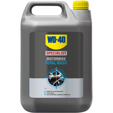 WD-40 specialist motorbike Total Wash