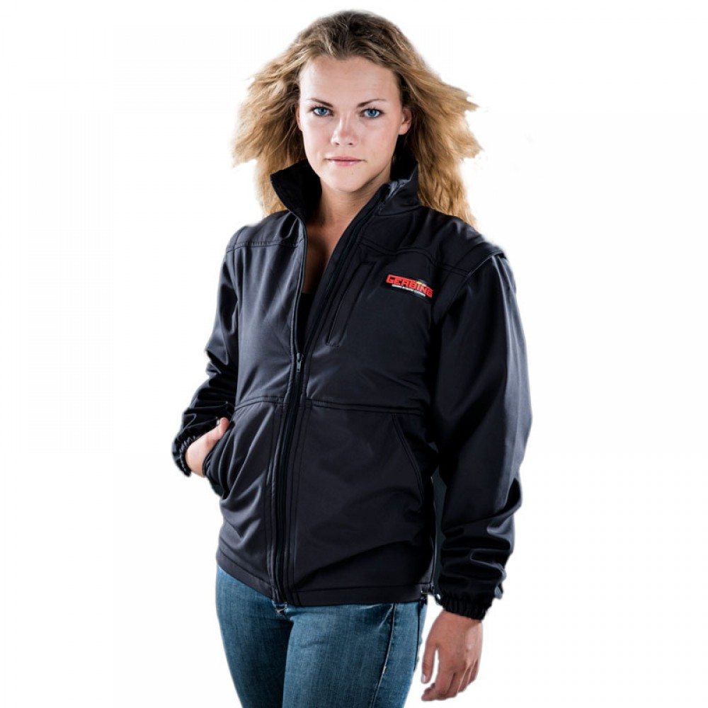 7V Soft Shell Jacket/Vest Black
