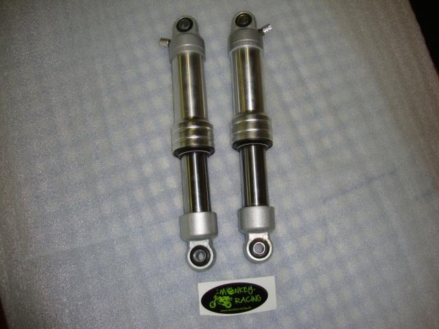 Federbeine silber Monkey 295mm  79,50 EUR