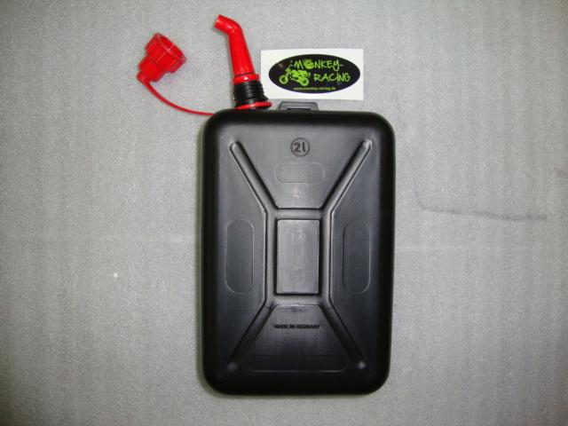 Benzinkanister 2l schwarz  9,50 EUR