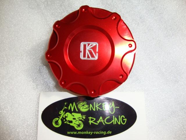 Tankdeckel Monkey (Replika) CNC Kepspeed rot  19,50 EUR