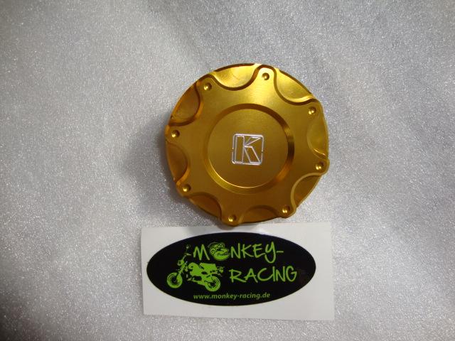 Tankdeckel Monkey (Replika) CNC Kepspeed gold  19,50 EUr