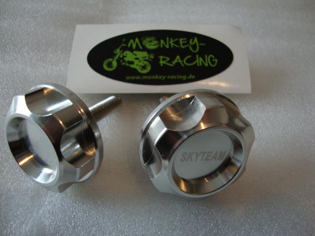 Lenkerknebel-Set Alu CNC rund klein  22,50 EUR