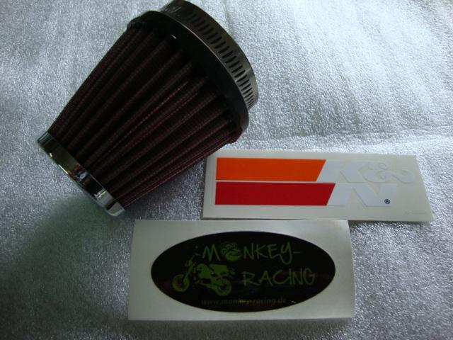K & N Luftfilter 43mm  68,50 EUR