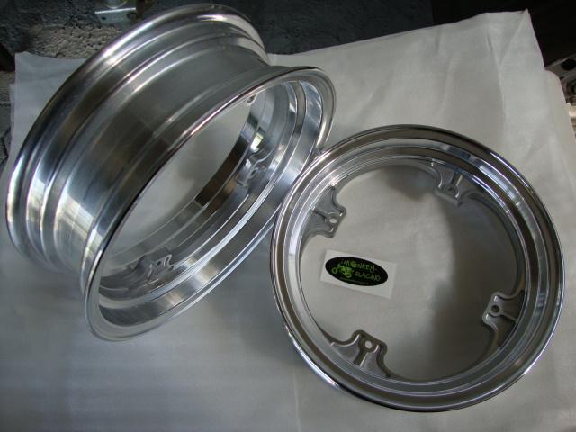 Alu Felgen Set Dax 12x2,75 + 12 x 3,5 einteilig  149,50 EUR