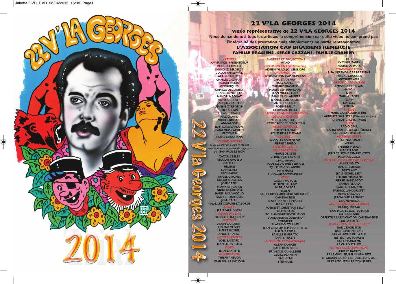 DVD 22V'là Georges 2014
