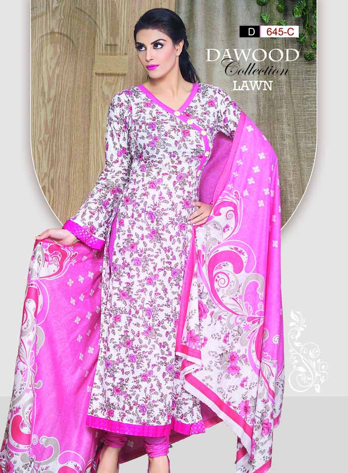 Stitched Collection Lawn 645-C