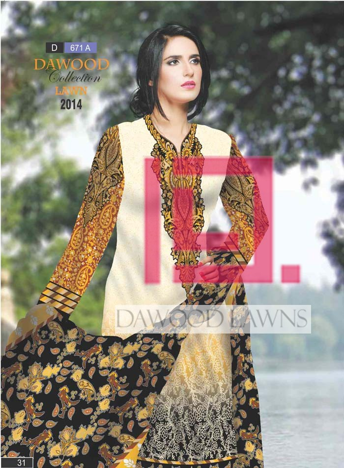 Dawood Collection Lawn 671A