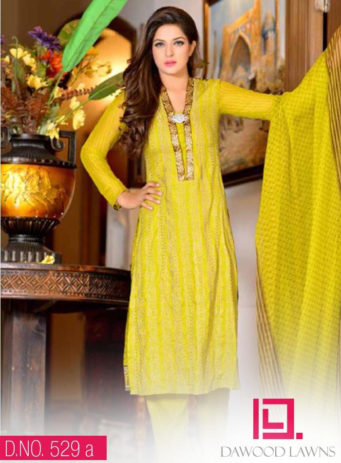Ayesha Samia 529-A (Yellow)