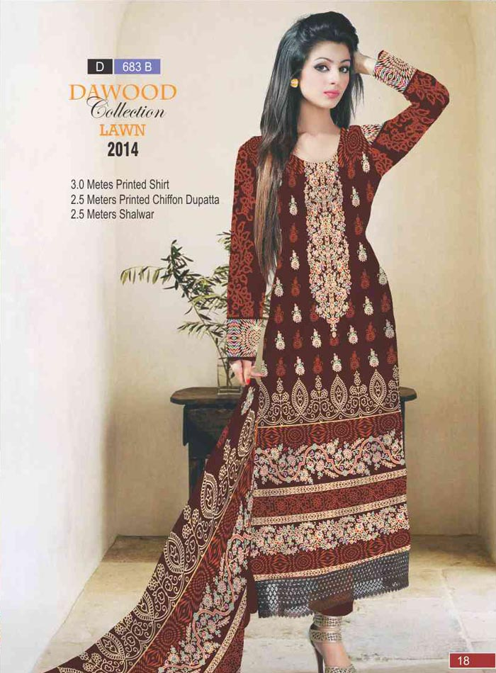 Dawood Collection Lawn 683-B