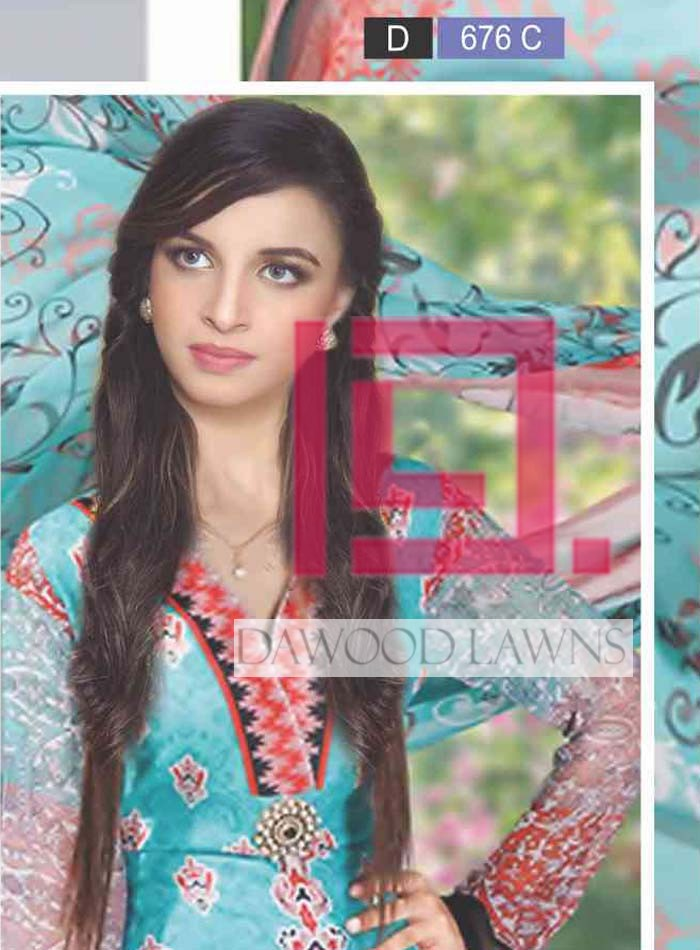 Dawood Collection Lawn 676A