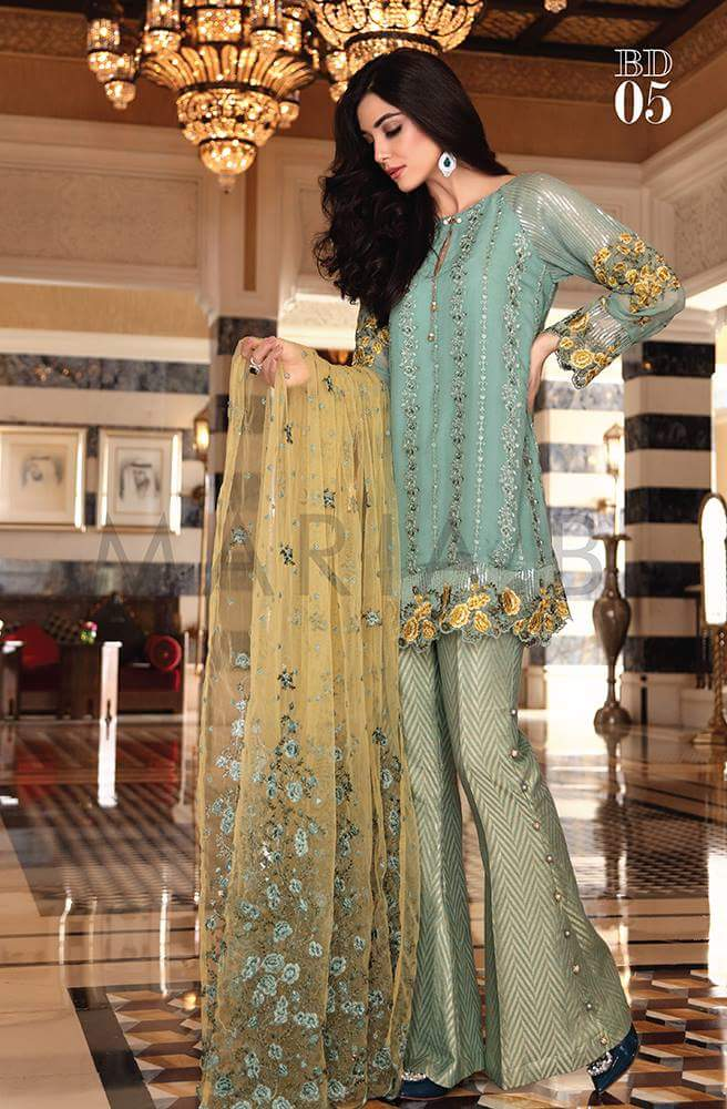2ea62b1eb4 A2Z Collections Pakistani Indian lawn designer Embroidered Stitched ...