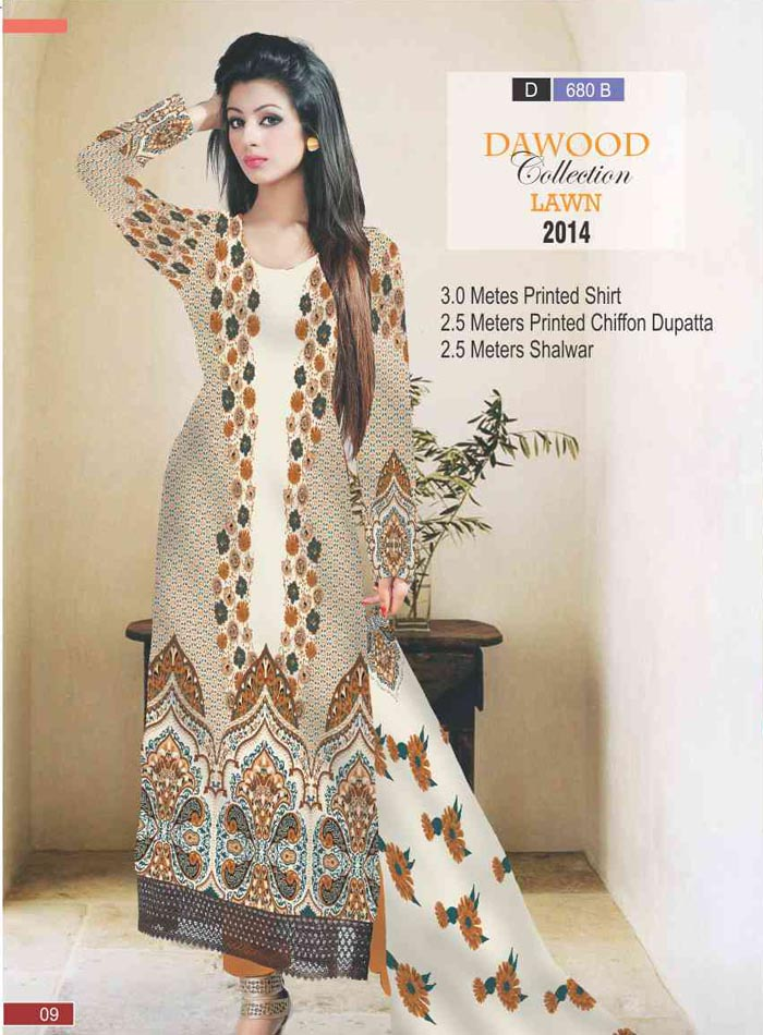 Stitched Collection Lawn 680-B