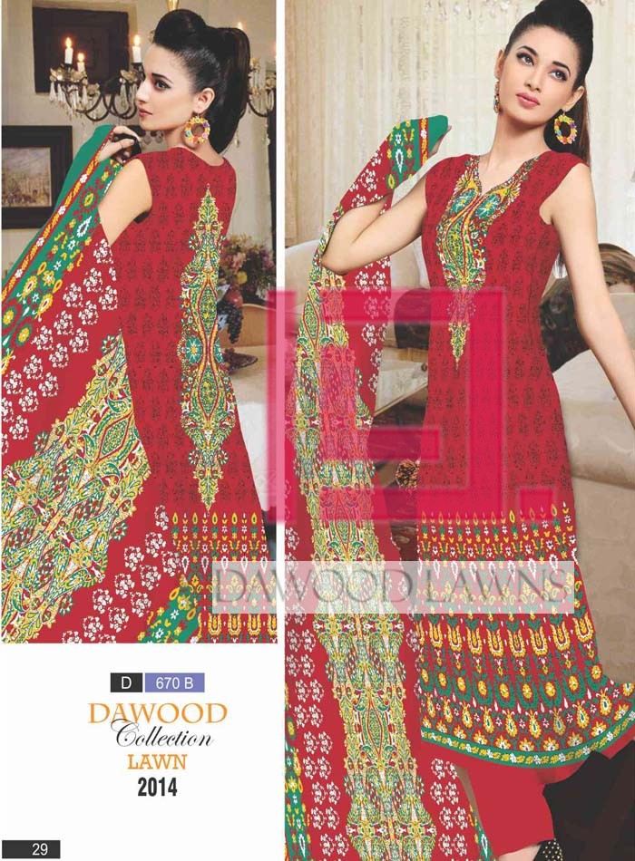 Dawood Collection Lawn 670B