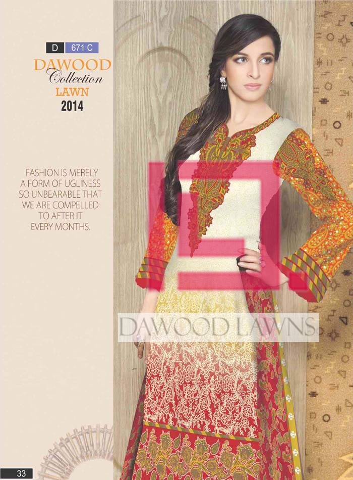 Dawood Collection Lawn 671C