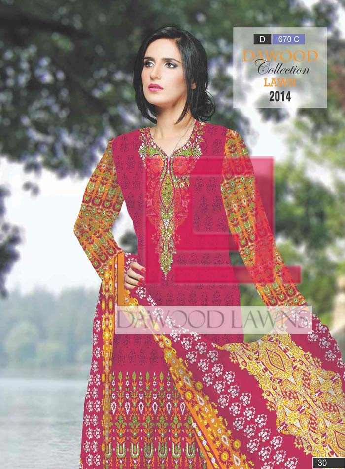 Dawood Collection Lawn 670C