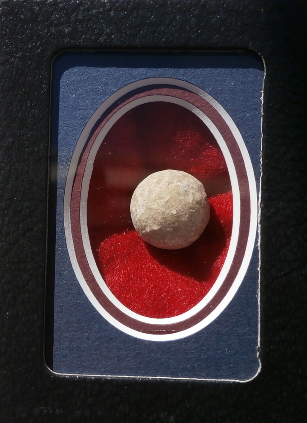.69 confederate musket ball round top