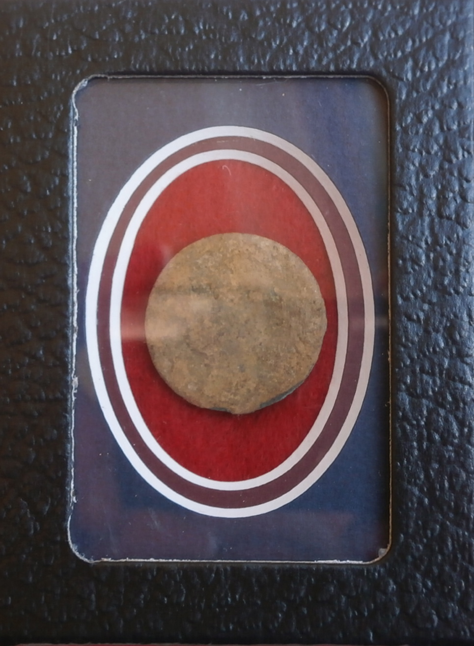 Confederate large plain button
