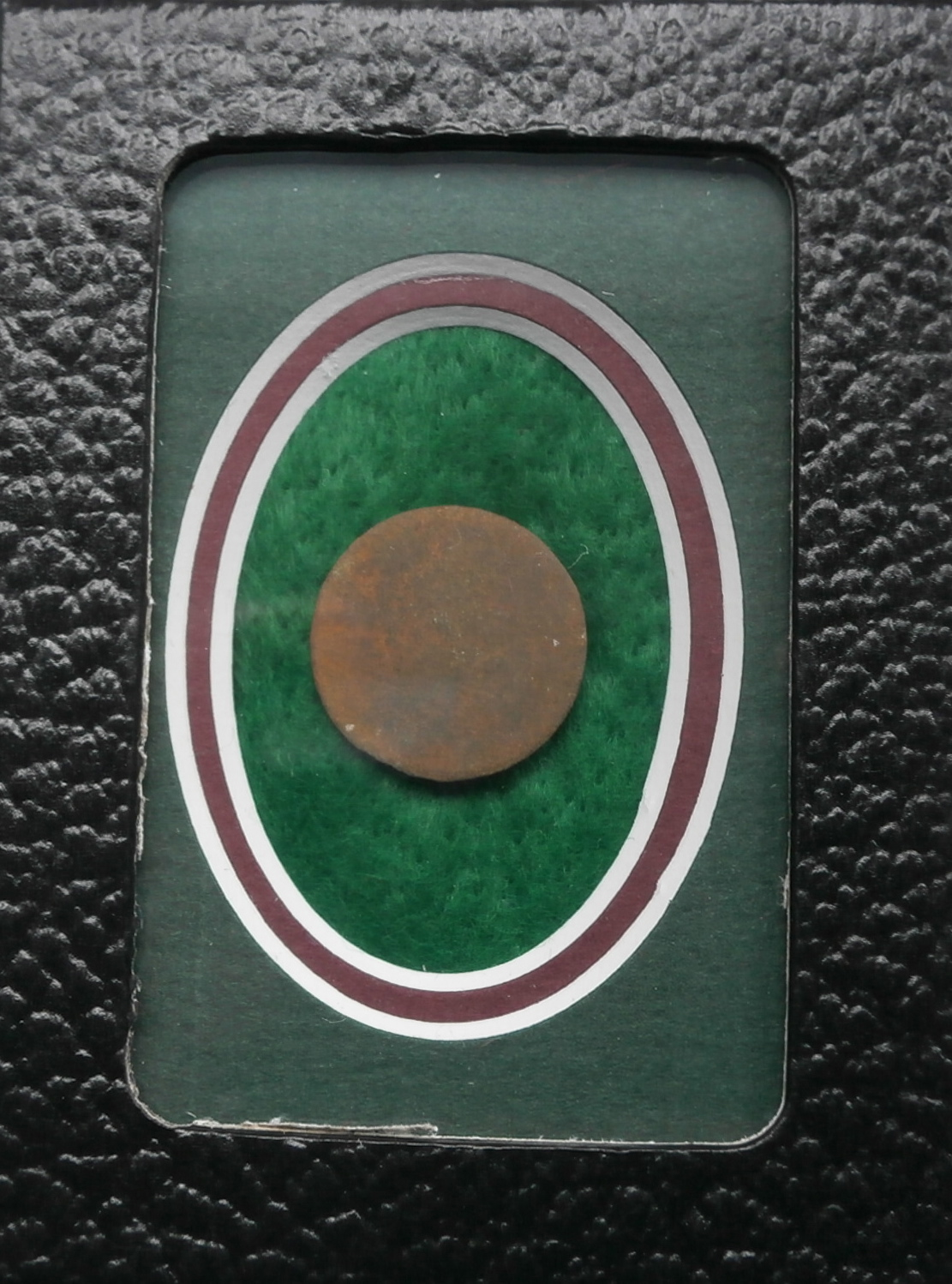 Confederate plain button